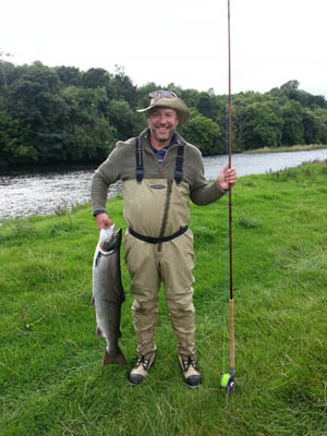 Castle Fisheries The River Derwent Cockermouth A big catch